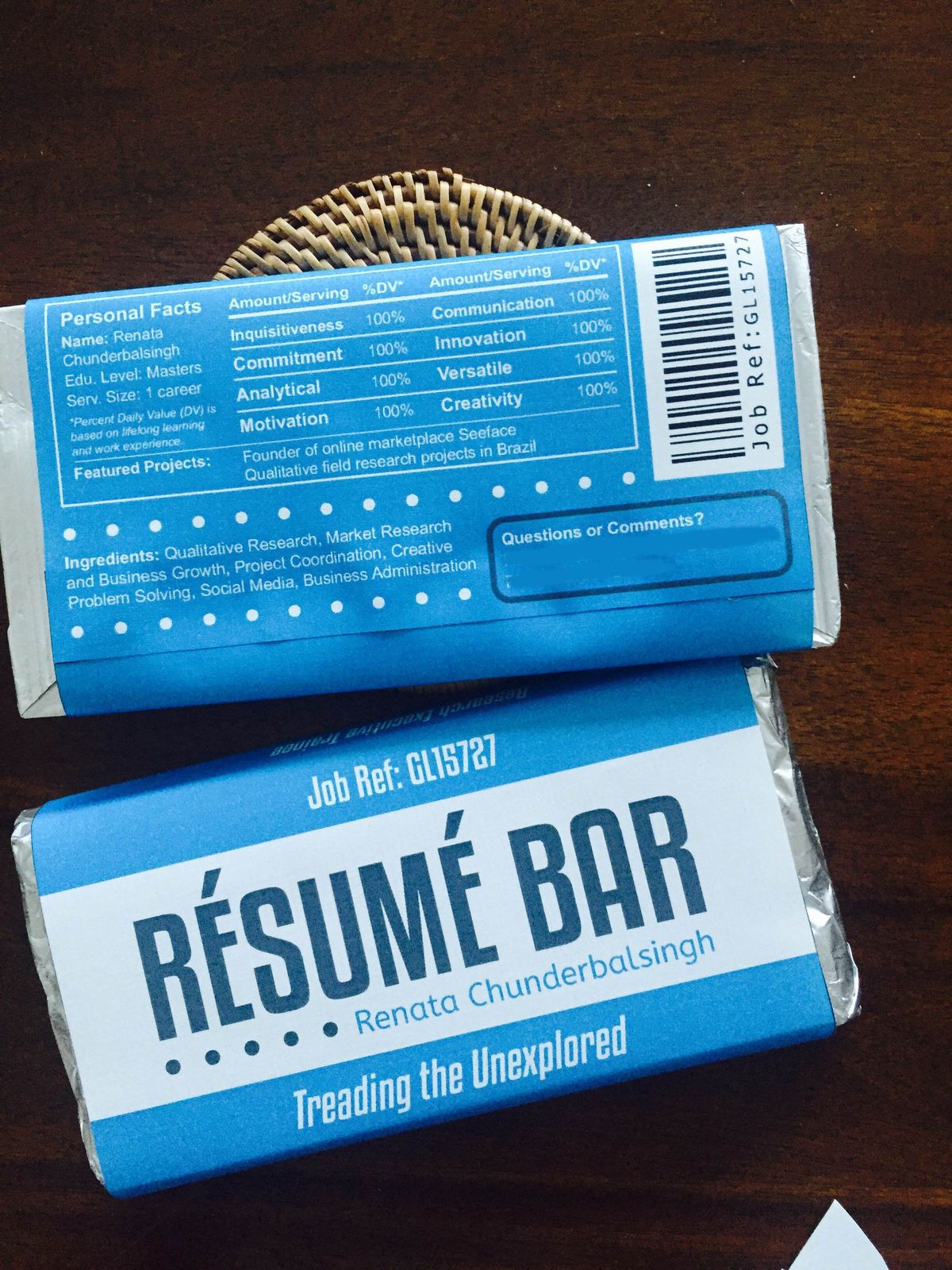 Creative resumes be group resource mashable malvernweather Images
