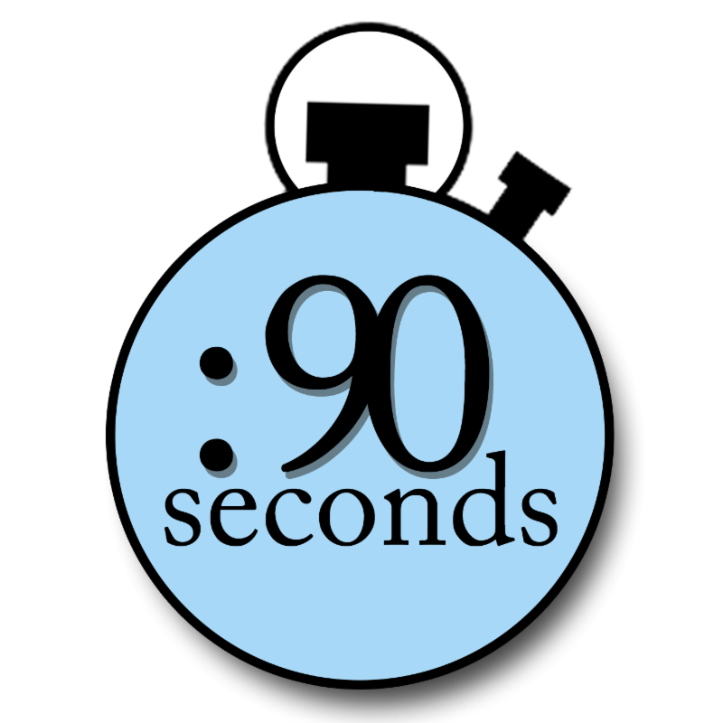 90 Seconds to Make an Impression